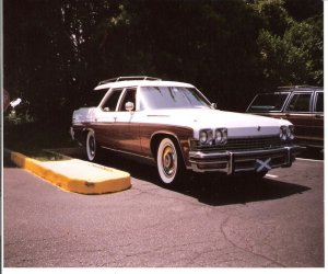 Front of station wagon models