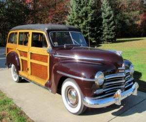 1947 Plymouth Special Deluxe front