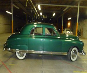 1949 Kaiser Vagabond right side profile