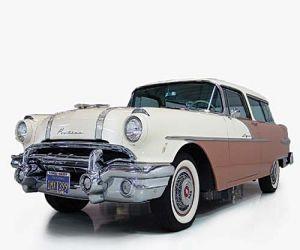 1956 Pontiac Safari front