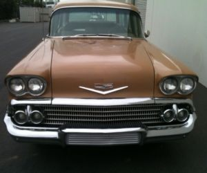 1958 Chevrolet Brookwood  Station Wagon front
