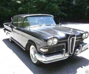 1958 Edsel Edsel Citation right front