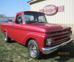 1961 Ford F100 Pickup truck profile
