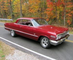 1963 Chevrolet Impala super sport 409 front
