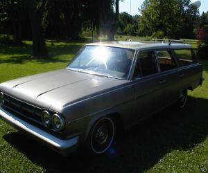 1965 RAMBLER 660 Classic Cross Country Station Wagon left front