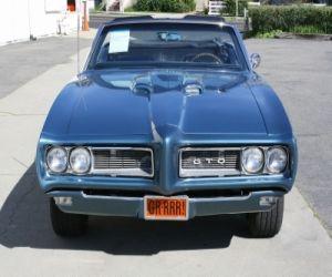 1968 Pontiac GTO front