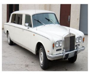 1969 Rolls Royce Silver Shadow limo front