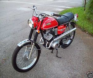 1969 Yamaha AS2C left side