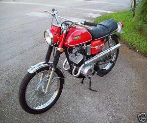1969 Yamaha AS2C left side
