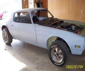 1970 Pontiac Firebird 350 Esprit front