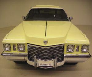 72 Cadillac Brogham wagon front