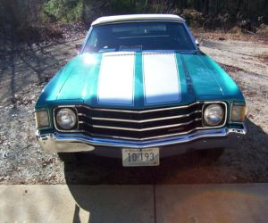 1972 Chevrolet Chevelle front