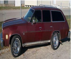 1976 Chevrolet Malibu Station wagon front