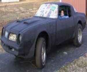 76 Pontiac Firebird front