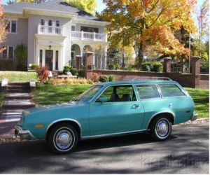 1978 Ford Station Wagon Pinto side view
