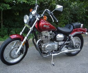 1987 HONDA REBEL CRUISER left side