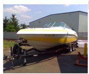 1989 Cobalt 243 Condurre boat front