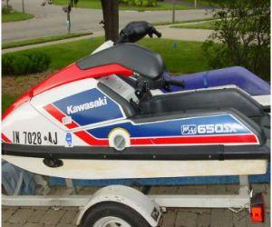 1989 Kawasaki 650sxs stand up side