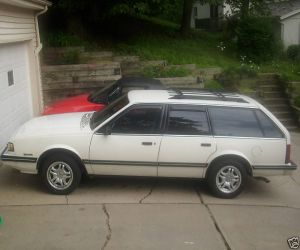 1990 Chevrolet Celebrity Station Wagon left side