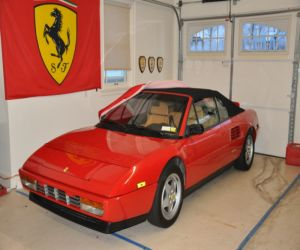 1992 ferrari mondial cabriolet for sale review. Black Bedroom Furniture Sets. Home Design Ideas