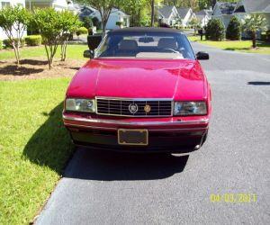 1993 Cadillac Allante front