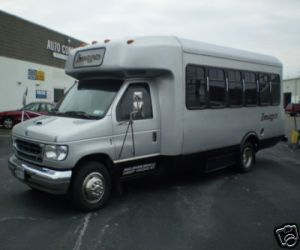 1993 Ford E 350 Limo Bus left front