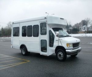 1995 Ford E350 side of bus