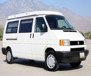 1995 Volkswagen Euro Van front