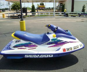1996 Seadoo GSX right side