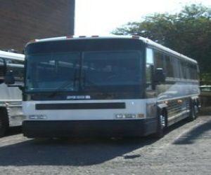 MCI 102D3 motor coach
