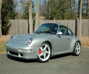 1997 Porsche 911C4S front