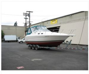 1997 Wellcraft 2800 Martinique boat front