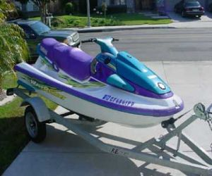 front of 1997 Yamaha Wave Venture 760 WaveRunner