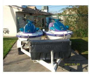 1997 Yamaha wave runner 760 front