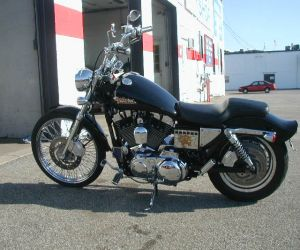 2000 Harley Davidson left side