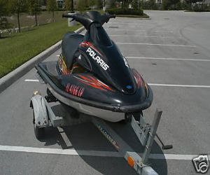 2001 Polaris SLX right front
