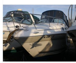 2001 Sea Ray Sundancer boat front