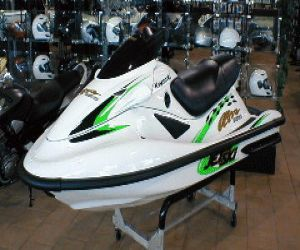 2002 KAWASAKI WAVERUNNER ULTRA 150 left front