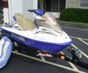 2002 seadoo bombardier gti le for sale review. Black Bedroom Furniture Sets. Home Design Ideas