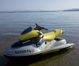 2002 SeaDoo XP limited edition front