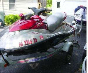 2003 Polaris Mx140 front