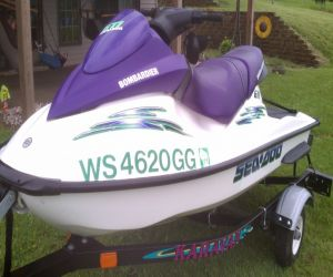 2003 SeaDoo GTI Weathercraft For Sale Review
