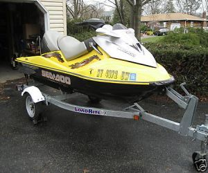 2003 SeaDoo GTX right front