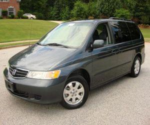 2004 Honda Odyssey left front