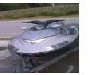 2004 Polaris Msx 150 front