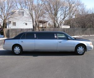 Side shot of Cadillac DeVille Limousine