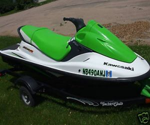 2005 Kawasaki STX R 1200 right front