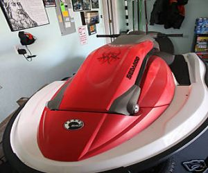 2005 SeaDoo 3D PWC Stand Up front