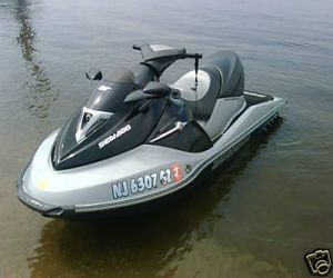 2005 SeaDoo GTX LTD left front