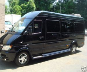 2008 Dodge Mercedes Sprinter Limo Van left front